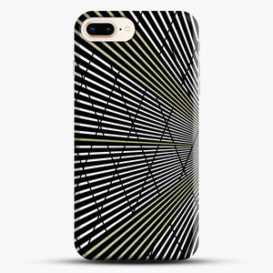 Gold and Black Line Pattern iPhone 7 Plus/8 Plus Case, Snap Case | Webluence.com