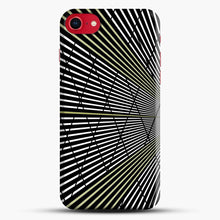 Load image into Gallery viewer, Gold and Black Line Pattern iPhone 7/8 Case.jpg, Snap Case | Webluence.com