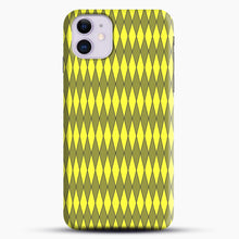 Load image into Gallery viewer, Gold, Diamond, Checkerboard iPhone 11 Case.jpg, Snap Case | Webluence.com