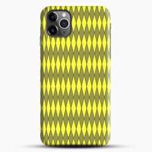 Load image into Gallery viewer, Gold, Diamond, Checkerboard iPhone 11 Pro Max Case.jpg, Snap Case | Webluence.com