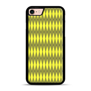 Gold, Diamond, Checkerboard iPhone 7/8 Case.jpg, Black Plastic Case | Webluence.com