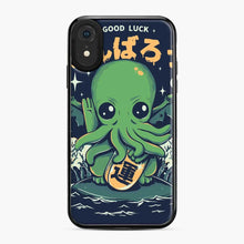 Load image into Gallery viewer, Good Luck Cthulhu Lovecraft Japanese Seafood iPhone XR Case