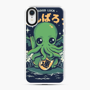 Good Luck Cthulhu Lovecraft Japanese Seafood iPhone XR Case