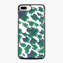 Load image into Gallery viewer, Green And Purple Cow Print iPhone 7 Plus / 8 Plus Case