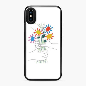 Hands With Flowers Picasso Frida Kahlo iPhone X/XS Case