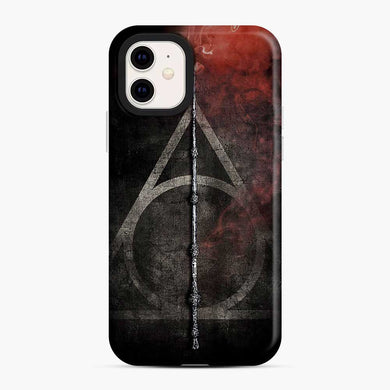 Harry Potter Deathly Hallows Triangle iPhone 11 Case, Snap Case