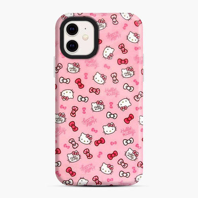Hello Kitty Cute Ribbon iPhone 11 Case, Snap Case