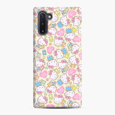 Hello Kitty Pink Love Samsung Galaxy Note 10 Case, Snap Case