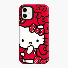 Load image into Gallery viewer, Hello Kitty Red Love iPhone 11 Case, Snap Case