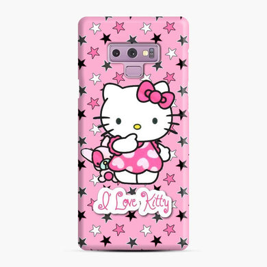 Hello Kitty i Love You in the star Samsung Galaxy Note 9 Case, Snap Case
