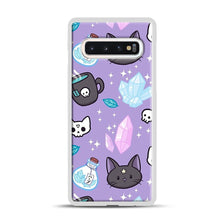 Load image into Gallery viewer, Herb Witch Samsung Galaxy S10 Case, White Plastic Case | Webluence.com