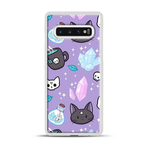 Herb Witch Samsung Galaxy S10 Case, White Rubber Case | Webluence.com