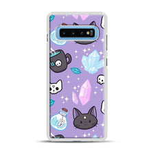 Load image into Gallery viewer, Herb Witch Samsung Galaxy S10 Plus Case, White Plastic Case | Webluence.com
