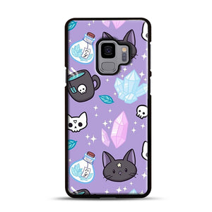 Herb Witch Samsung Galaxy S9 Case, Black Rubber Case | Webluence.com