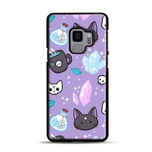 Load image into Gallery viewer, Herb Witch Samsung Galaxy S9 Case, Black Plastic Case | Webluence.com