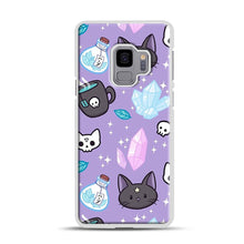Load image into Gallery viewer, Herb Witch Samsung Galaxy S9 Case, White Plastic Case | Webluence.com