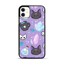 Load image into Gallery viewer, Herb Witch iPhone 11 Case.jpg, Black Plastic Case | Webluence.com