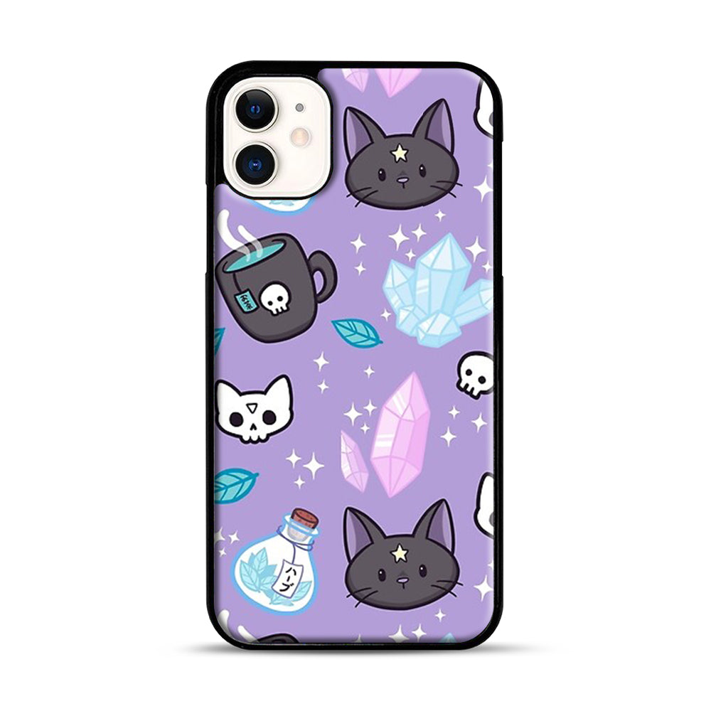 Herb Witch iPhone 11 Case.jpg, Black Plastic Case | Webluence.com