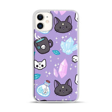 Load image into Gallery viewer, Herb Witch iPhone 11 Case.jpg, White Plastic Case | Webluence.com