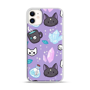 Herb Witch iPhone 11 Case.jpg, White Rubber Case | Webluence.com