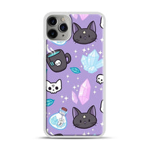 Load image into Gallery viewer, Herb Witch iPhone 11 Pro Max Case.jpg, White Plastic Case | Webluence.com