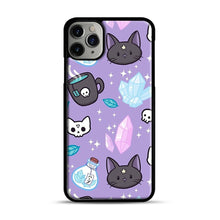 Load image into Gallery viewer, Herb Witch iPhone 11 Pro Max Case.jpg, Black Plastic Case | Webluence.com