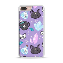 Load image into Gallery viewer, Herb Witch iPhone 7 Plus/8 Plus Case, White Plastic Case | Webluence.com