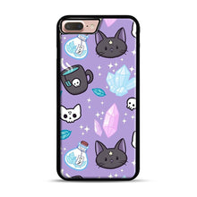 Load image into Gallery viewer, Herb Witch iPhone 7 Plus/8 Plus Case, Black Plastic Case | Webluence.com