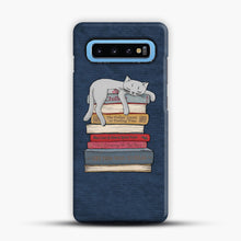 Load image into Gallery viewer, How to Chill Like a Cat Samsung Galaxy S10 Case, Snap Case | Webluence.com