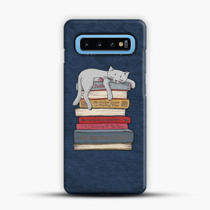 How to Chill Like a Cat Samsung Galaxy S10 Case, Snap Case | Webluence.com
