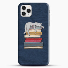 Load image into Gallery viewer, How to Chill Like a Cat iPhone 11 Pro Case, Snap Case | Webluence.com
