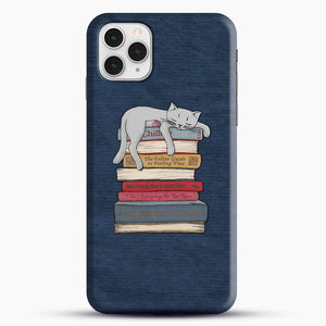 How to Chill Like a Cat iPhone 11 Pro Case, Snap Case | Webluence.com
