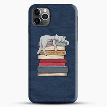 Load image into Gallery viewer, How to Chill Like a Cat iPhone 11 Pro Max Case.jpg, Snap Case | Webluence.com