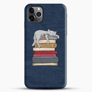 How to Chill Like a Cat iPhone 11 Pro Max Case.jpg, Snap Case | Webluence.com