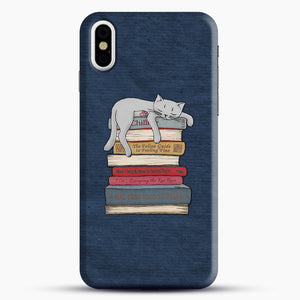 How to Chill Like a Cat iPhone X/XS Case, Snap Case | Webluence.com