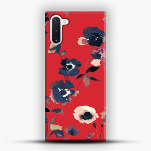 Ikebana Flower Pattern Samsung Galaxy Note 10 Case, Snap Case | Webluence.com