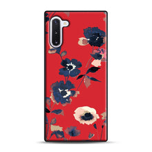 Load image into Gallery viewer, Ikebana Flower Pattern Samsung Galaxy Note 10 Case, Black Rubber Case | Webluence.com