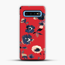 Load image into Gallery viewer, Ikebana Flower Pattern Samsung Galaxy S10 Case, Snap Case | Webluence.com