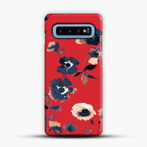 Ikebana Flower Pattern Samsung Galaxy S10 Case, Snap Case | Webluence.com