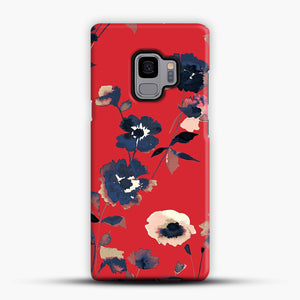 Ikebana Flower Pattern Samsung Galaxy S9 Case, Snap Case | Webluence.com