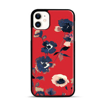 Load image into Gallery viewer, Ikebana Flower Pattern iPhone 11 Case.jpg, Black Rubber Case | Webluence.com