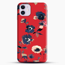 Load image into Gallery viewer, Ikebana Flower Pattern iPhone 11 Case.jpg, Snap Case | Webluence.com