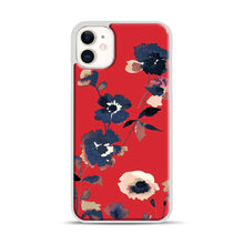 Load image into Gallery viewer, Ikebana Flower Pattern iPhone 11 Case.jpg, White Plastic Case | Webluence.com