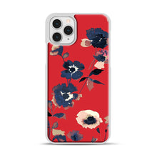 Load image into Gallery viewer, Ikebana Flower Pattern iPhone 11 Pro Case, White Plastic Case | Webluence.com