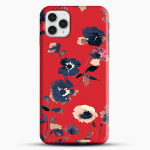 Load image into Gallery viewer, Ikebana Flower Pattern iPhone 11 Pro Case, Snap Case | Webluence.com