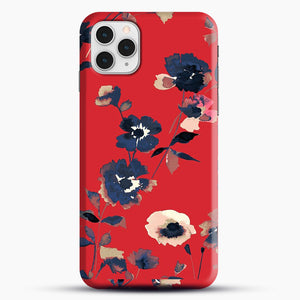 Ikebana Flower Pattern iPhone 11 Pro Case, Snap Case | Webluence.com