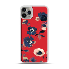 Load image into Gallery viewer, Ikebana Flower Pattern iPhone 11 Pro Max Case.jpg, White Plastic Case | Webluence.com