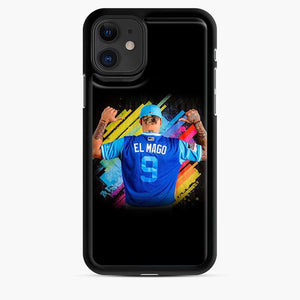 Javier Baez El Mago Rainbow iPhone 11 Case