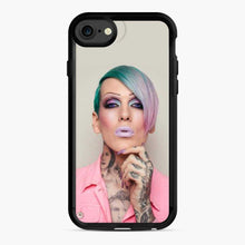 Load image into Gallery viewer, Jeffree Star Blue Hair Tattoo iPhone 11 Pro Max Case
