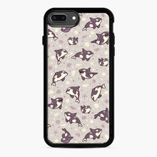 Load image into Gallery viewer, Jelly Bean Orcas iPhone 7 Plus / 8 Plus Case